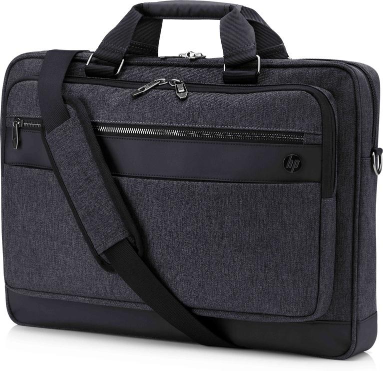 Сумка с ремнем HP Executive 6KD08AA, черный, 17.3″
