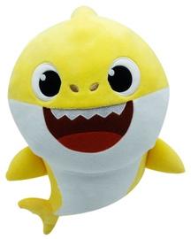 Dainuojantis pliušinis žaislas Pinkfong Baby Shark Yellow, 35 cm