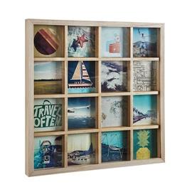Umbra Grid Art Display Photo Frame Natural