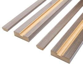 Durų stakta Classen, dešinininė, ruda, 2065 x 90 x 30 mm