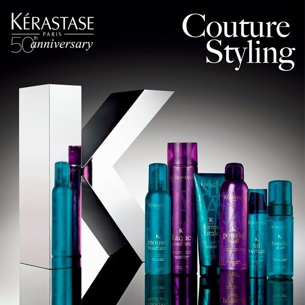 Kerastase Couture Styling Laque Noire Extra Strong Hold Hairspray 300ml