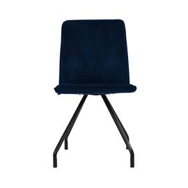 Valgomojo kėdė Linnea Velvet, mėlyna