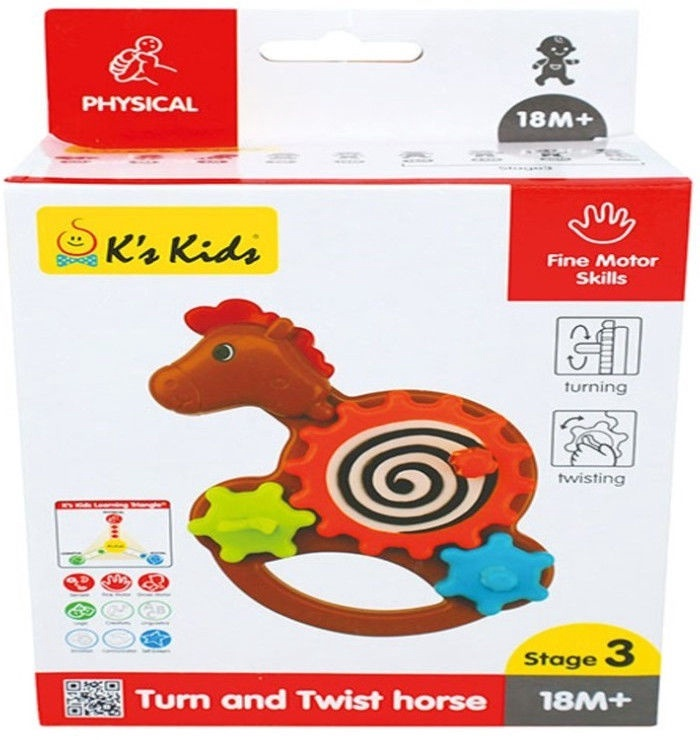 K's Kids Turn & Twist Horse KA10768