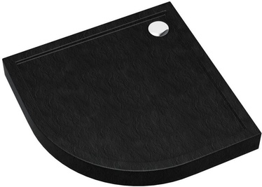 Vento Shower Tray 800x120x800mm Black