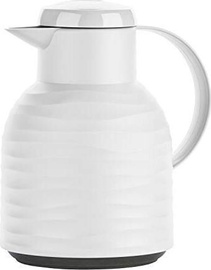 Emsa Samba Vacuum Jug Quick Press 1l White