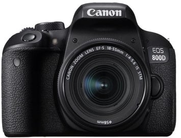 Canon EOS 800D + EF-S18-55 F4-5.6 STM SLR Camera Kit