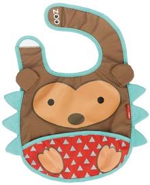 SkipHop Zoo Tuck Away Bib Hedgehog