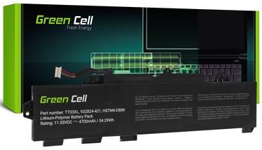 Sülearvutiaku Green Cell TT03XL, 4.7 Ah, LiPo