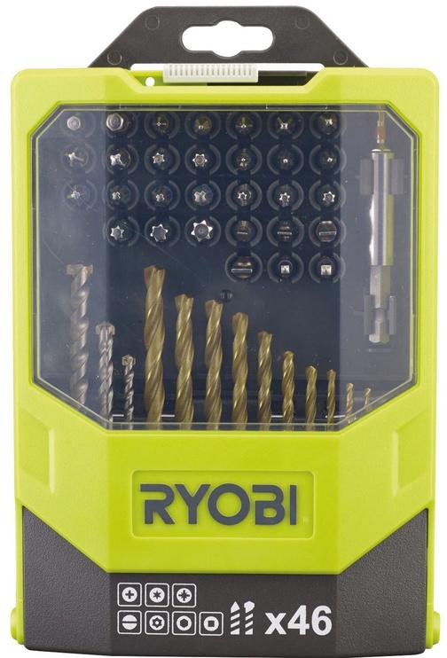 Ryobi RAK46MIX Drill And Screwdriver Bit Set 46pcs