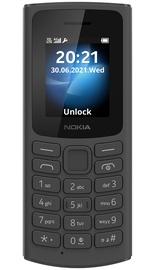 Мобильный телефон Nokia 105 2021 4G, черный, 48MB/128MB