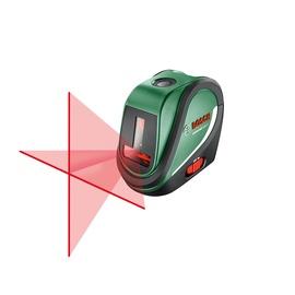 Kryžminių linijų lazerinis nivelyras Bosch Green universal level 2 0603663801, 10 m