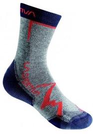La Sportiva Socks Mountain Grey/Navy Blue L