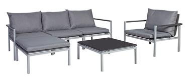 Home4you Waldo Garden Furniture Set Grey