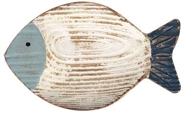Taldrik Home4you Beach House, sinine/liivakarva pruun