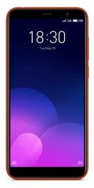 Mobilusis telefonas Meizu M6T Red, 16 GB
