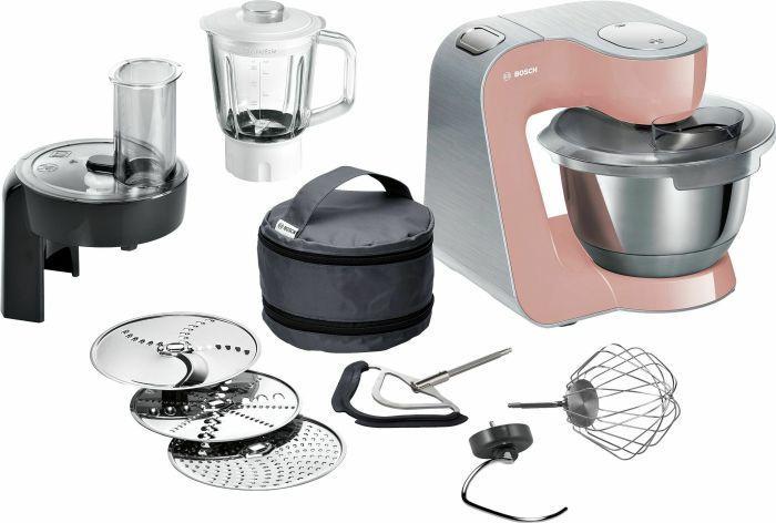 Virtuvinis kombainas Bosch MUM58NP60 Pink/Silver