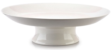 Mondex Basic Platter On Leg White 31cm