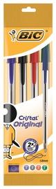 Lodīšu pildspalva BIC Cristal Original Ball Pen Set 4pcs