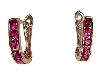 Diamond Sky Gold Earrings Confetti I