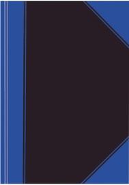 Herlitz Notepad C.V. A6/100 Pages Blue/Black