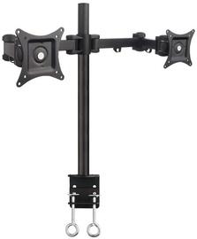 Televizoriaus laikiklis ART L-02 Holder For 2x LCD Monitor 13-27'' Black