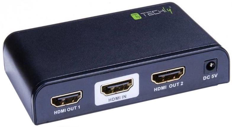 Techly Audio / Video Splitter HDMI x 2