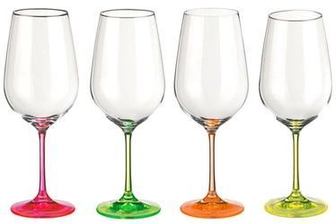 Bohemia Wine Glass Neon 350ml 4pcs