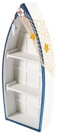 Home4you Shelf Beach House-2 Boat 26x60cm