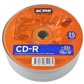 Acme CD-R 52X 700MB 25P Shrink
