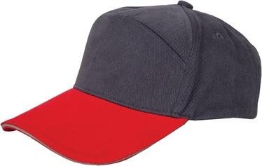 Müts, must/punane