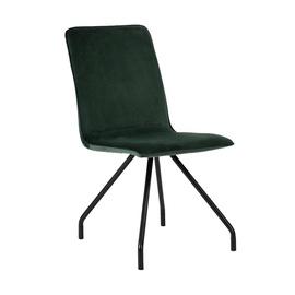 Valgomojo kėdė Linnea Velvet, žalia