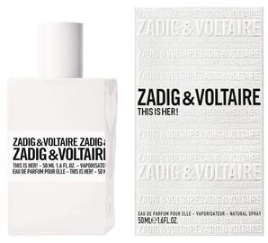 Zadig & Voltaire This is Her! 50ml EDP