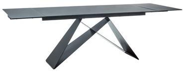 Valgomojo stalas Signal Meble Westin II Black, 2400x900x760 mm