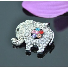 Vincento Brooch With Zirconium Crystal LD-1092