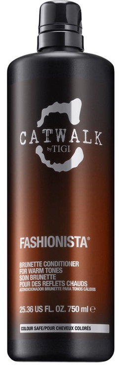 Tigi Catwalk Fashionista Brunette Conditioner 750ml