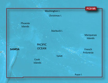 Garmin BlueChart g2 VPC019R Polynesia