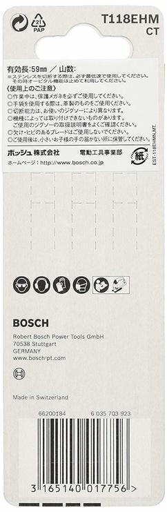 Bosch 2608630665 T 118 EHM Jigsaw Blade Set 3pcs