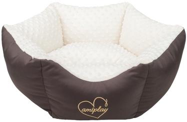 Amiplay Babydoll Crown Bed M 58x23cm Creamy