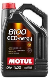 Motul 8100 Eco-Nergy 5W30 Motor Oil 5l