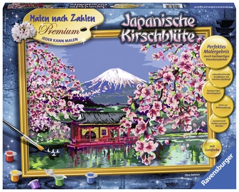 Ravensburger Painting By Numbers Japanese Cherry Blossom 288410