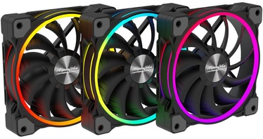 Alpenföhn Wing Boost 3 120mm RGB High Speed Black Triple