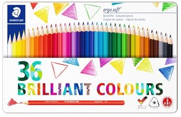 Цветные карандаши Staedtler Ergosoft, 36 шт.