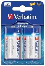 Verbatim Alkaline Battery D 2pcs