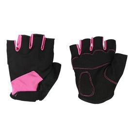 Велосипедные перчатки Ferts FSGLV 107, черный/розовый, S