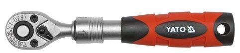 Yato YT-0297 Telescopic Ratchet Handle 1/4'' 150-200mm