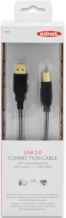 Ednet Cable USB / USB Black 100m