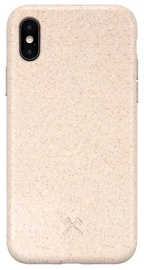Woodcessories Bio Back Case For Apple iPhone X/XS Beige