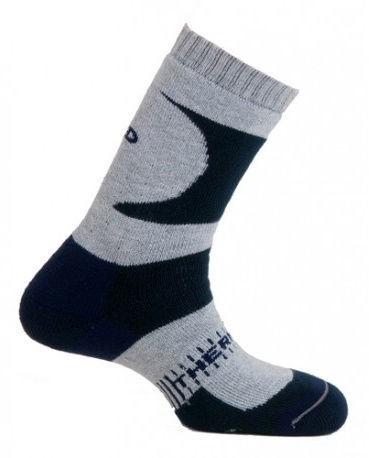 Носки Mund Socks K2 Black/Gray, XL, 1 шт.