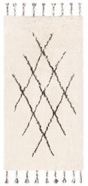 Ковер FanniK Artemis White/Brown, коричневый/белый, 140x200 см