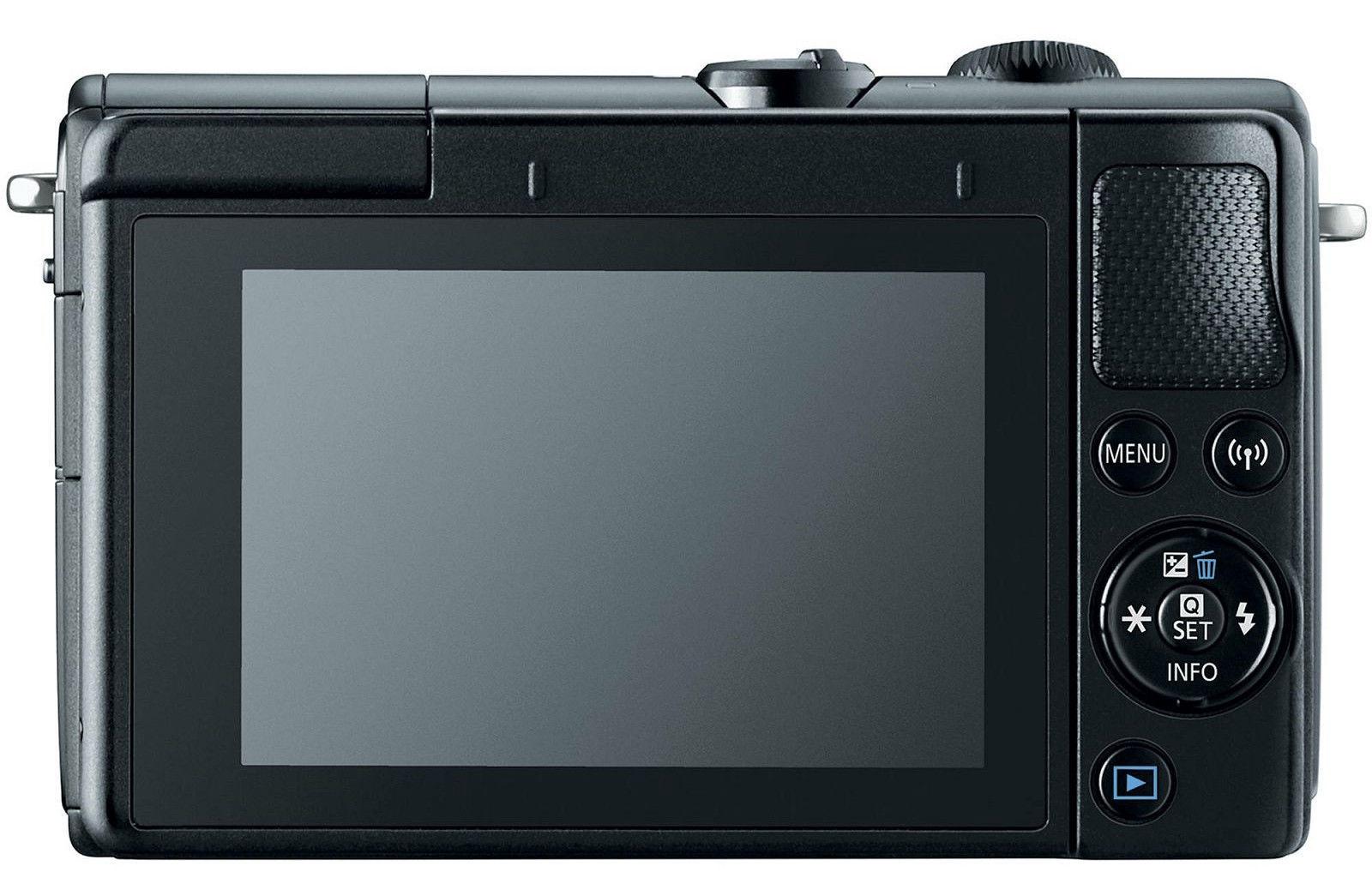 b6b7b23b36f Canon EOS M100 BK M15-45 S + IRISTA EU18 Kit Black - Krauta.ee